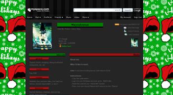 santahat myspace layouts 2.0