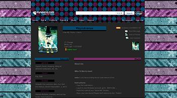 stripe purple blue myspace layouts 2.0