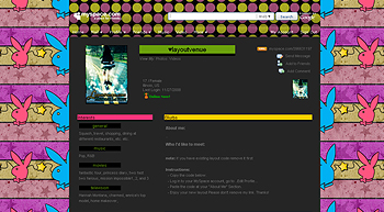 stripe star plyby myspace layouts 2.0