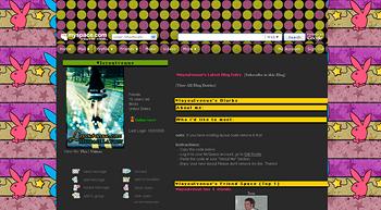 stripe star plyby default myspace layouts