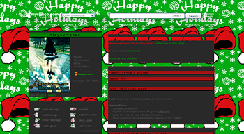 santahat myspace layouts