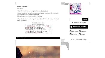 pink tumblr themes