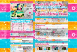 sick die famous myspace layouts